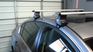nissan rogue luggage capacity nissan altima with thule 480r aeroblade base roof rack by rack