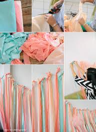 ribbon backdrop diy fabric ribbon backdrop tutorial pointe of view party by