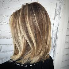 images of blonde layered haircuts from the back balayage lob back view from the gorgeous balayage blonde bob the