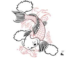 koi fish drawings drawing factory