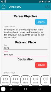Resume Maker On The Go Cv Resume Maker Android Apps On Google Play