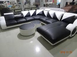modern sofa set living room furniture sectional leather sofa