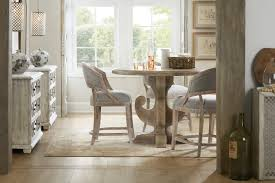 hooker furniture dining room boheme ascension 48in wood round