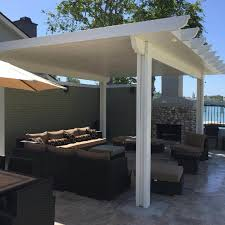 Insulated Patio Roof by Home Alumacovers Aluminum Patio Covers Riverside Ca