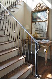 Sliding Down A Banister Maybe Just Change The Color Of Our Iron Banister To This So We