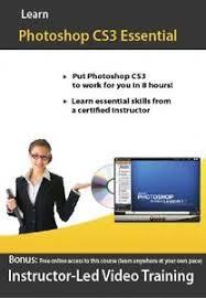 tutorial photoshop cs3 videos learn adobe photoshop cs3 video training tutorial ebay