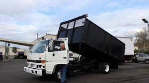 town and country truck 5970 1994 isuzu npr 14 ft flatbed