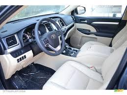 toyota highlander 2016 interior 2016 shoreline blue pearl toyota highlander xle awd 110396454