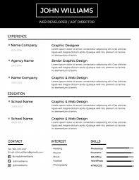 Google Docs Resume Template 12 Free Minimalist Professional Microsoft Docx And Google Docs Cv