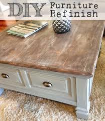 Wood Table Refinishing Diy Coffee U0026 End Table Refinish U2013 Clairebella Studio
