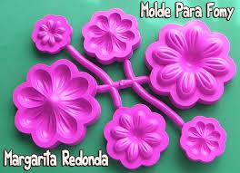 flores de foamy molde para foamy margarita redonda crea arreglos florales termoforma