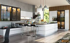 kitchen cabinets white lacquer modern high gloss white lacquer kitchen cabinet op16 l19