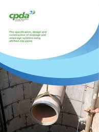 cpda the specification design and construction of drainage and