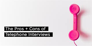 the pros and cons of telephone interviews aaron wallis sales