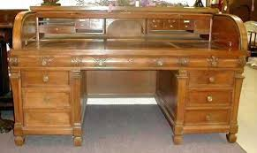 antique roll top desk prices archana me Small Roll Top Desk For Sale