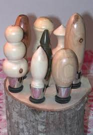 here us one of the wine cork stopper display holders without