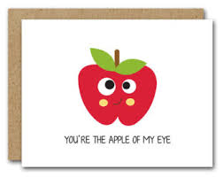 apple of my eye card etsy
