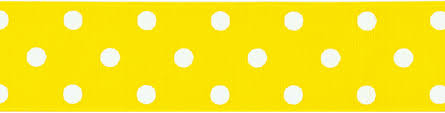 polka dot ribbon wholesale polka dot ribbon gg 1 1 2 9 maize sku 642695