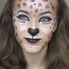 Snow Leopard Halloween Costume 10 Fierce Halloween Cat Makeup Ideas