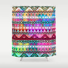 Bright Shower Curtain Wonderful Bright Shower Curtains And Rainbow Colors Multicolor In
