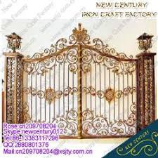 2015 sell wrought iron gates ornamental wrought iron gates
