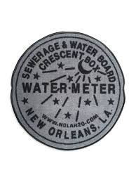 new orleans water meter indoor new orleans water meter rug grey fleurty girl