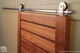 Barn Door Railing by How To Install Square Rail Door Track Cheap Barn Door Hardware