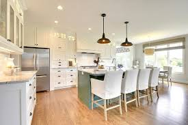blue kitchen island with oak cabinets green blue kitchen island with gray and white granite