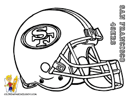 27 san francisco 49ers football coloring at coloring pages book