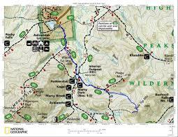 Adirondack Mountains Map Tabletop A Bushwhackers Route Lake Placid Adirondacks
