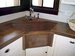 American Kitchen Sinks by Kitchen 1485845416 L Corner Sink Cabinet Corner Kitchen Sink