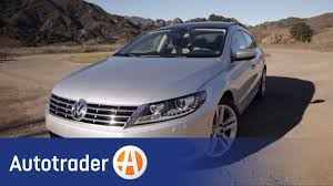 2013 volkswagen cc sedan new car review autotrader youtube