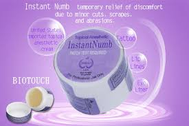 cosmetic tattoo numbing cream makeup tattoo numbing cream biotouch instant numb fast acting