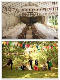 guirlande fanion mariage décoration mariage habillez votre plafond