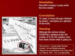 Iron Curtain Political Cartoons This Cartoon U0027a Peep Under The Iron Curtain U0027 By The British