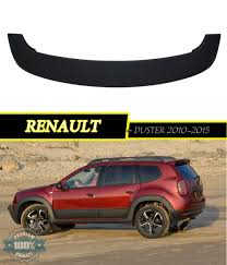 renault duster 2015 spoiler aerodynamic for renault duster 2010 2015 styling car