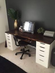 Cheap Computer Desks Ikea Large Computer Desk Ikea Best 25 Ikea Desk Ideas On Pinterest