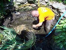 Meyer Aquascapes Pond Maintenance Cleaning Repair Contractors Ohio Oh Pond
