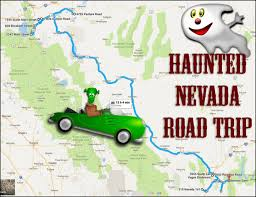 nevada road map this haunted road trip leads you to the scariest places in nevada