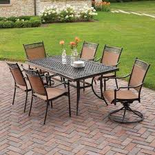 Aluminum Patio Dining Set Cast Aluminum Patio Dining Furniture Patio Furniture The