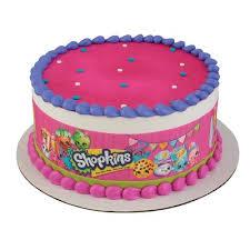 edible cake topper shopkins cake strips edible cake topper