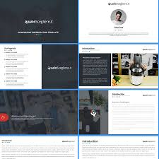 create a powerpoint template following our website look and feel