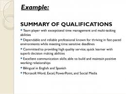 resume summary of qualification exles resume cv cover letter perfect resume 2 resume templates