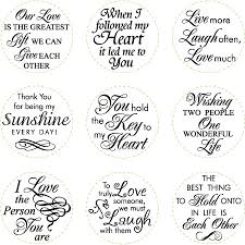 printable love quotes and sayings print on card stock punch with 1 1 2 inch circle punch and go
