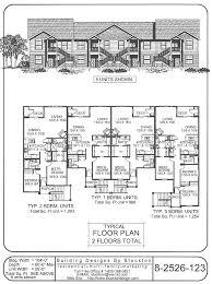 166 best multi family plans images on pinterest duplex house