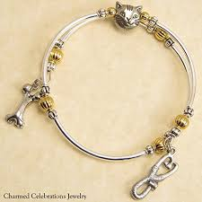 themed charm bracelet veterinarian wrap bracelet handmade themed charm bracelet jewelry