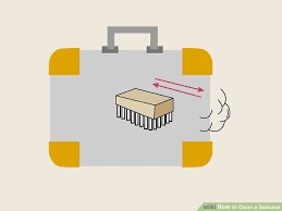 how to clean a suitcase with pictures wikihow