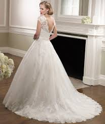 aliexpress com buy short sleeve beaded lace wedding dresses ball