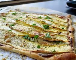 cuisiner les courgettes jaunes tarte courgettes jaunes chèvre fristouille recettes