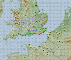 Map Of Southern England by Battle Of Britain 2006 Scenario Rules